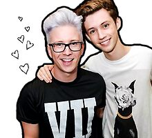 Troye and Tyler hearts by emileen2