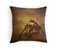 IT IS NOW OR NEVER! - BLACK-FACED IMPALA - Aepyceros melampus petersi  Throw Pillow
