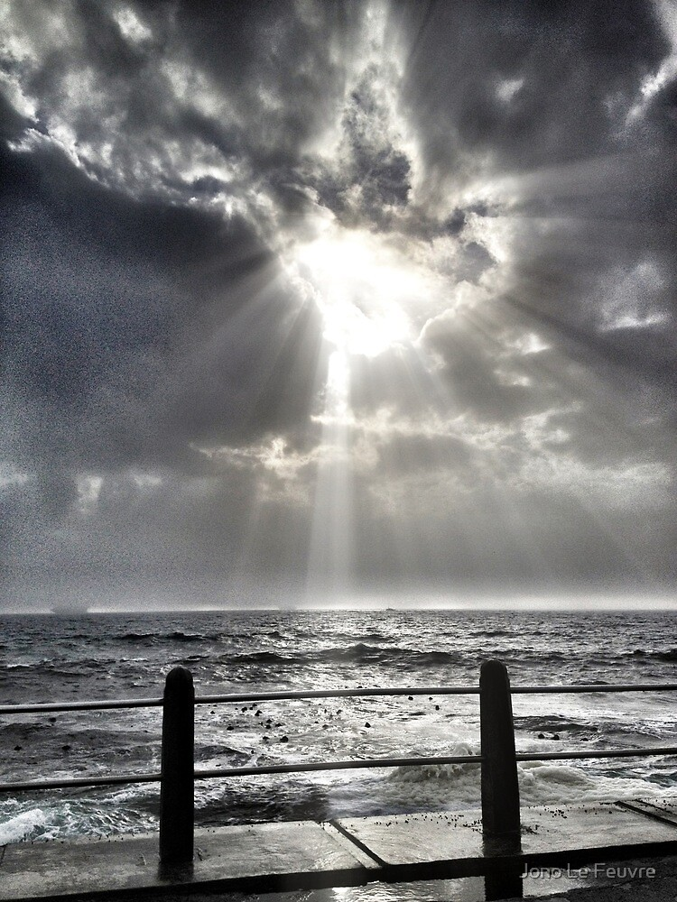 Shining through by Jono Le Feuvre