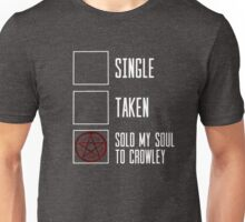 Supernatural relationship status Unisex T-Shirt
