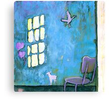 ALICE'S HOME Canvas Print