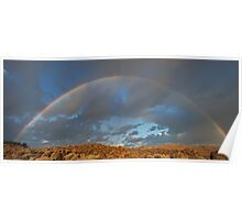 Full Rainbow Sunrise Poster