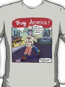 """Buy America!"" T-Shirt"