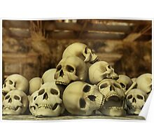 A Pile of Skulls Poster