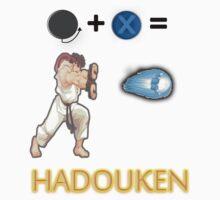 Street Fighter Hadouken! One Piece - Short Sleeve
