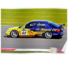 Ford Mondeo No 62 Poster