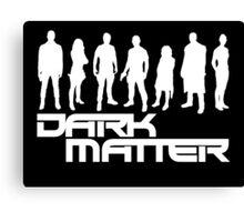 dark matter Canvas Print