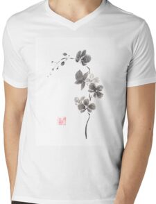 Butterfly orchid Mens V-Neck T-Shirt