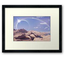 Planet XVII Framed Print