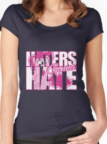Pinkie Pie - Haters gonna Hate Women's Fitted Scoop T-Shirt