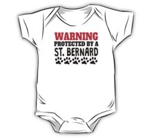 Protected By A St. Bernard One Piece - Short Sleeve