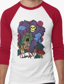 Playing With My Toys Men's Baseball ¾ T-Shirt