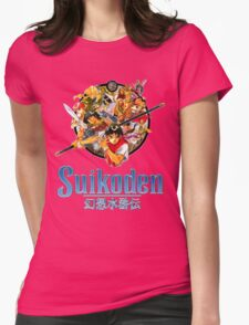 Suikoden Womens Fitted T-Shirt