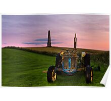 Monument Tractor Poster