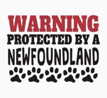 Protected By A Newfoundland Kids Tee