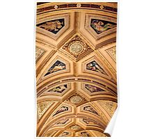 Portico Ceiling - Vienna Opera House Poster