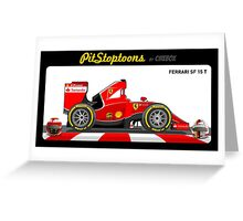 FERRARI SF 15 T _ 2015 Greeting Card