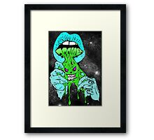Lips of Doomed  Framed Print