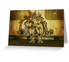 Steampunk Robot - The Nemesis Greeting Card