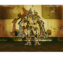 Steampunk Robot - The Nemesis Photographic Print