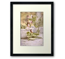 A Little Help In The Kitchen Framed Print