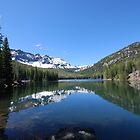 Strawberry Lake Reflection by Payne24