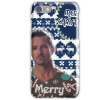 Merry TeenWolf-mas [Peter Hale] iPhone Case/Skin