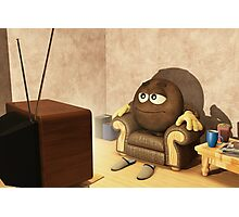 The Couch Potato Photographic Print