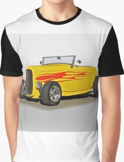 1932 Ford 'Flame Game' Roadster Graphic T-Shirt