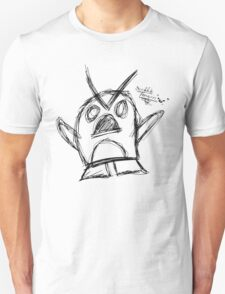 Scribble Penguin T-Shirt