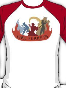 Fire Ferrets Trio - English T-Shirt