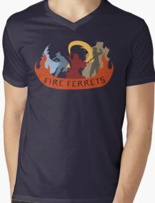 Fire Ferrets Trio - English T-Shirt