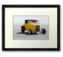 1932 Ford 'Banana Republic' Roadster Framed Print