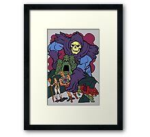 Playing With My Toys Framed Print