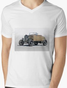 1930 Ford 'Rod'n in the 30's' Roadster Mens V-Neck T-Shirt