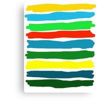 Brush Strokes #5 Canvas Print