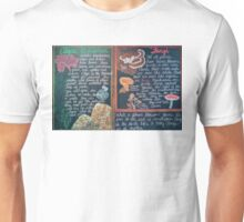 Botany Lesson - Algae, Lichen and Fungi Unisex T-Shirt
