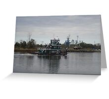 Cape Fear River Greeting Card