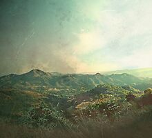 mountain view - zoopiyi village by Gregoria  Gregoriou Crowe