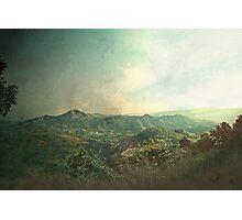 mountain view - zoopiyi village Photographic Print