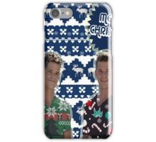 Merry TeenWolf-mas [Twins] iPhone Case/Skin