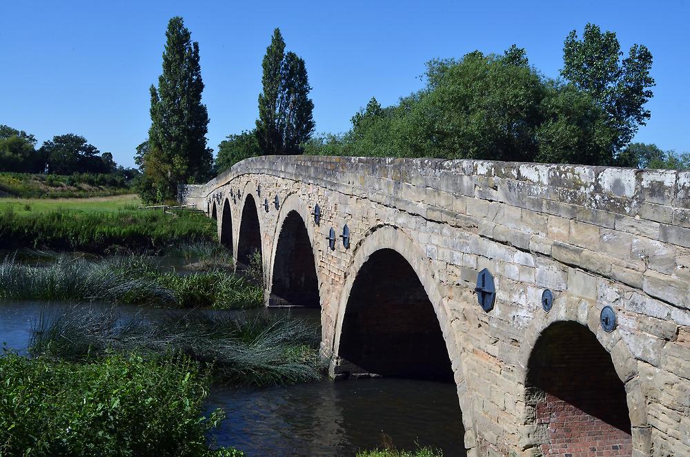 Bridge at Barford, Warwickshire by Chris Monks