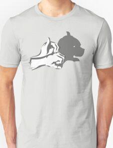 HandShadow - Dog Head Unisex T-Shirt