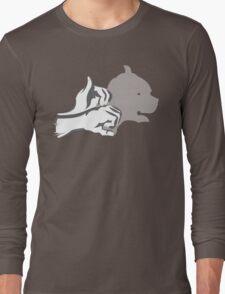 HandShadow - Dog Head Long Sleeve T-Shirt