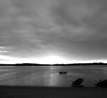 Beach and boats by Tommi Rautio