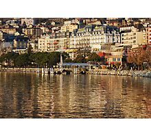 Montreux Hotel Palace Photographic Print