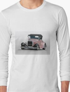 1929 Ford 'Champagne Blush' Roadster Long Sleeve T-Shirt