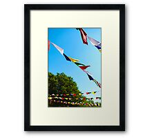 Bright Winds Framed Print