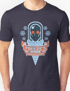 Freeze's Premium Ice Cream Unisex T-Shirt