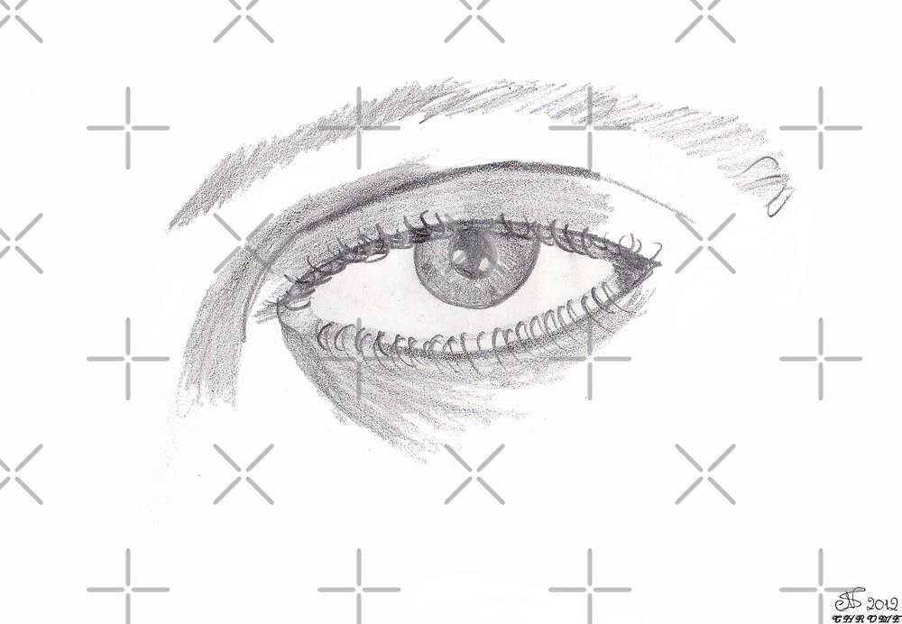 Eye drawing by Chrome Clothing